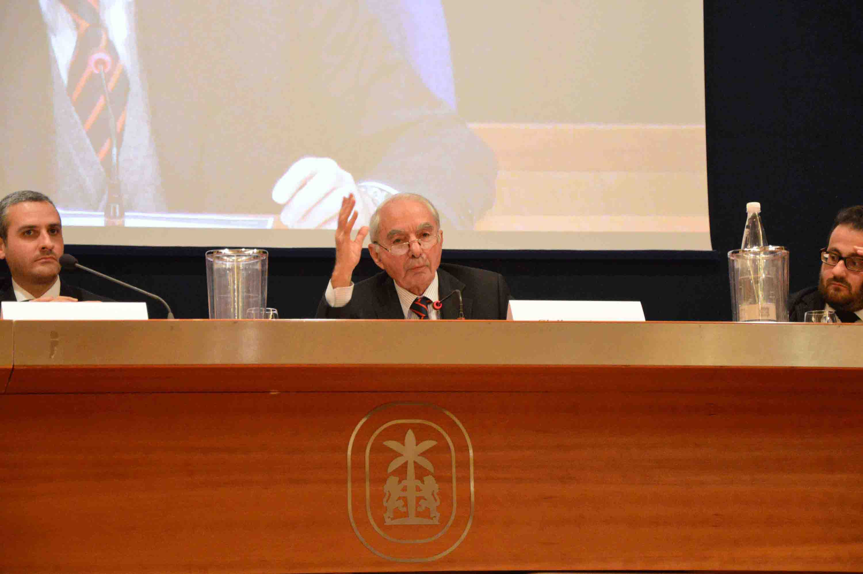 Giuliano Amato conferenza inaugurale accademia adim