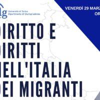 Diritto e Diritti nell'Italia dei migranti