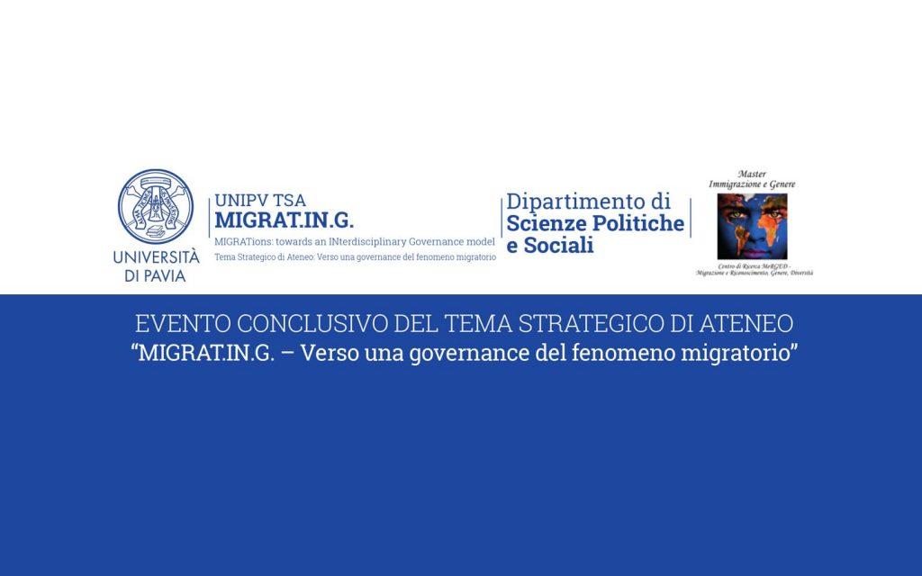 convegno givernance fenomeni migratori