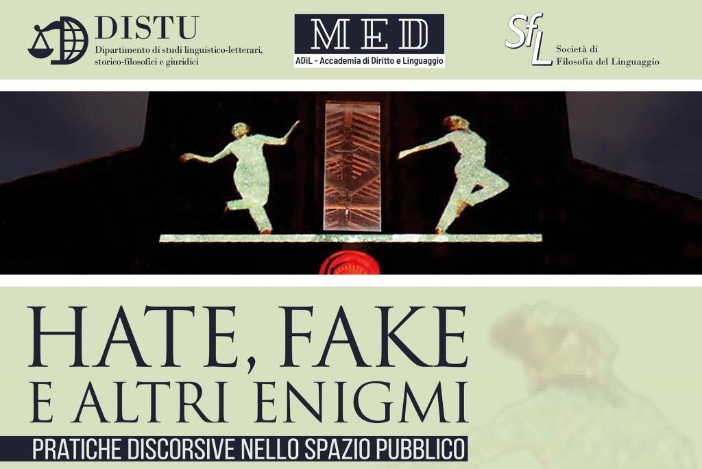 Hate Fake e altri Enigmi