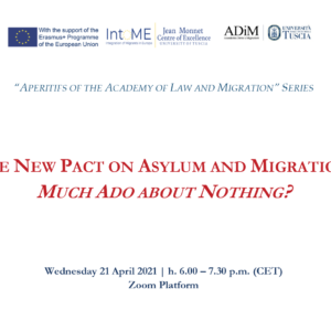 The New Pact on Asylum and Migration: Much Ado about Nothing