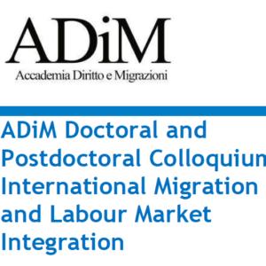 ADiM Doctoral and Postdoctoral Colloquium