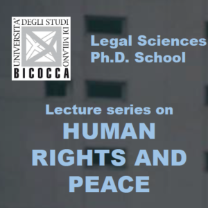 Lecture Series on Human Rights and Peace